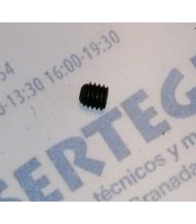 ESPARRAGO ALLEN DIN-916 M6 X 6 NEGRO